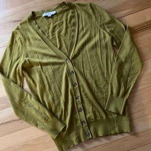 Loft Green Cardigan - Medium